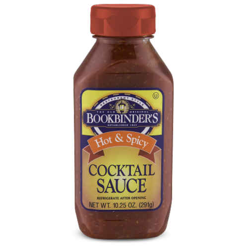 Bookbinder's Hot & Spicy Cocktail Sauce Perspective: front