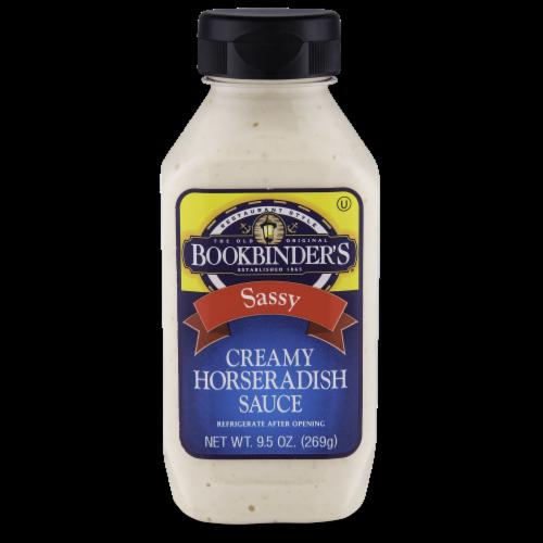 Bookbinder's Sassy Creamy Horseradish Sauce Perspective: front
