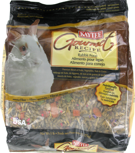 Kaytee Gourmet Rabbit Food Perspective: front