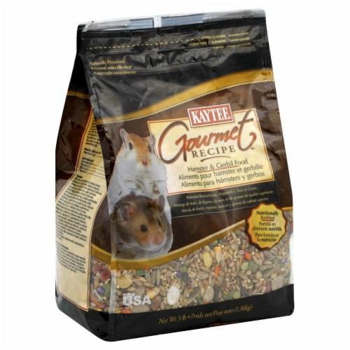 Kaytee Gourmet Recipe Hamster & Gerbil Food Perspective: front