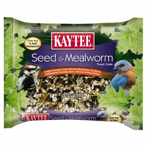 Kaytee Mealworm Cake Perspective: front