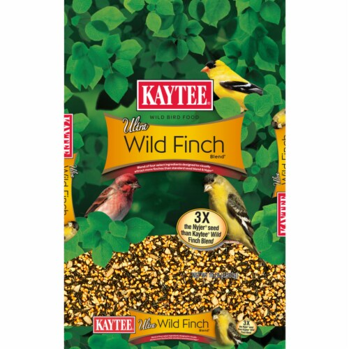 Kaytee Products 8914756 Ultra Wild Finch Wild Bird Food Nyjer, 10 lbs Perspective: front