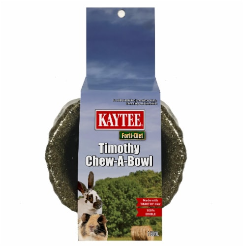 Kaytee Timothy Chew-A-Bowl Perspective: front