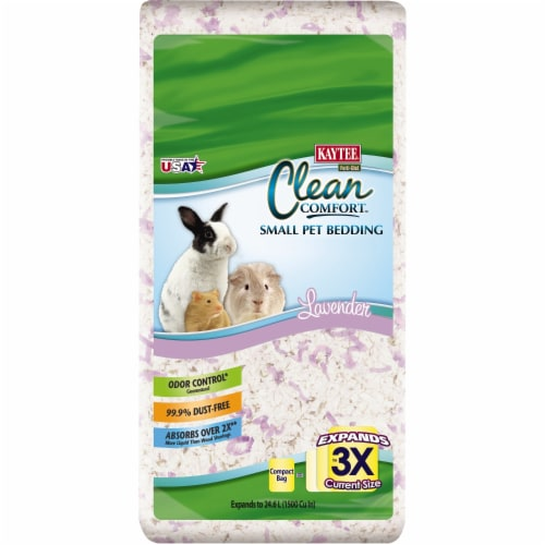 Kaytee Clean Comfort Lavender Small Pet Bedding Perspective: front