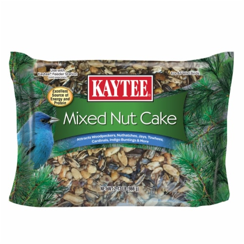 Kaytee Mixed Nut Cake Perspective: front