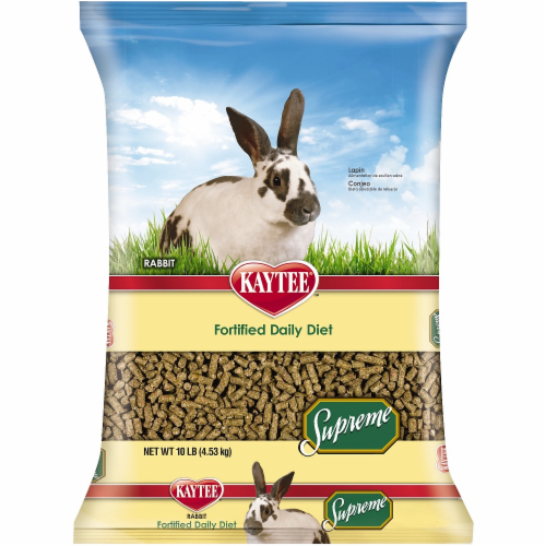 Kaytee Supreme Rabbit Food Perspective: front