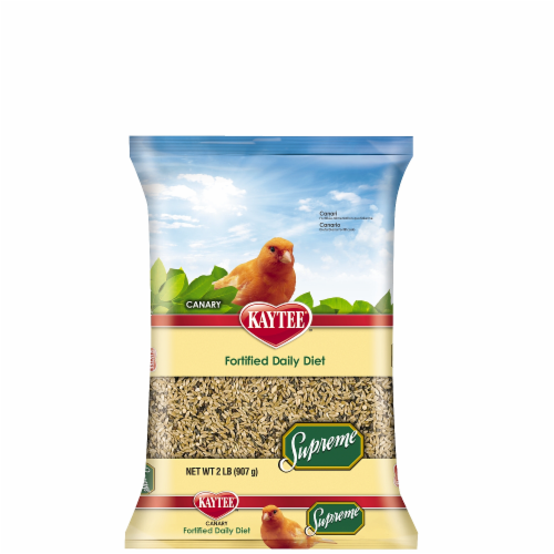 Kaytee Supreme Canary Food Perspective: front