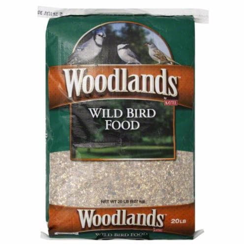 Kaytee Woodlands Wild Bird Seed Perspective: front