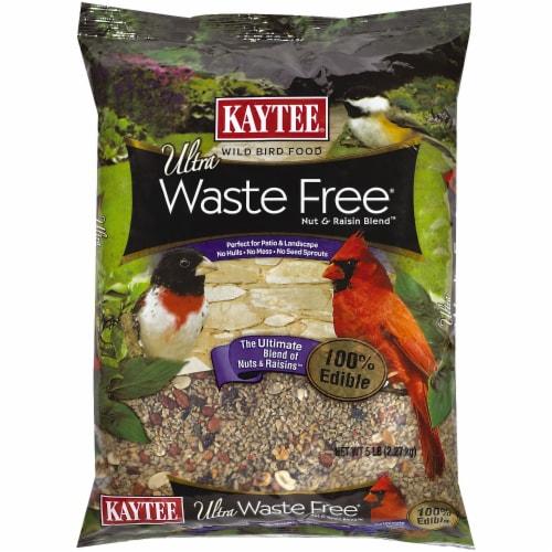Kaytee Ultra Waste Free Nut & Raisin Blend Perspective: front