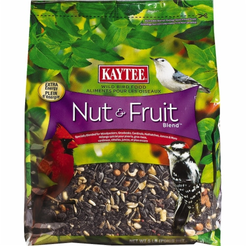 Kaytee Nut & Fruit Blend Wild Bird Food Perspective: front