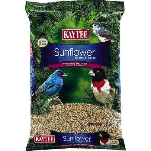Kaytee Sunflower Hearts & Chips Wild Bird Food Perspective: front