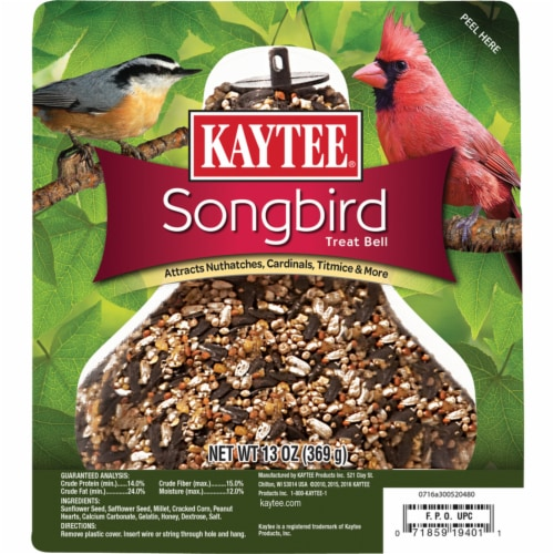 Kaytee Products 100503929 13 oz. Song Bird Bell Perspective: front