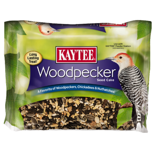 Kaytee Woodpecker Seed Cake Perspective: front