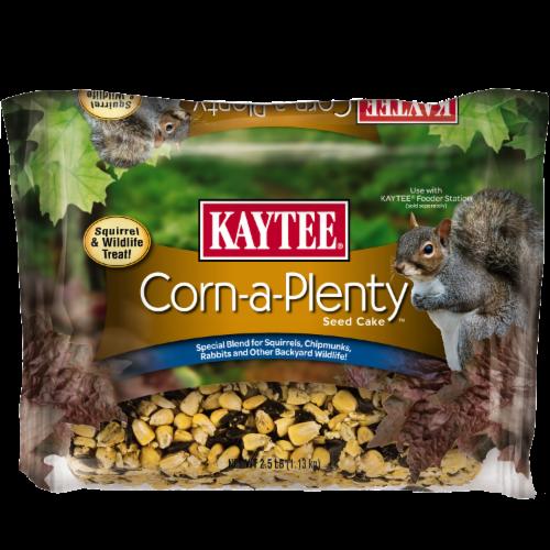 Kaytee Corn-a-Plenty Seed Cake Perspective: front
