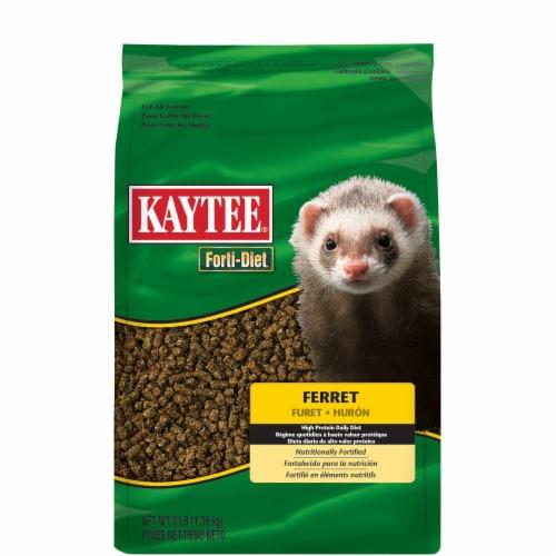 Kaytee Forti-Diet Ferret Food Perspective: front