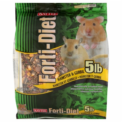 Kaytee Forti-Diet Hamster and Gerbil Food Perspective: front