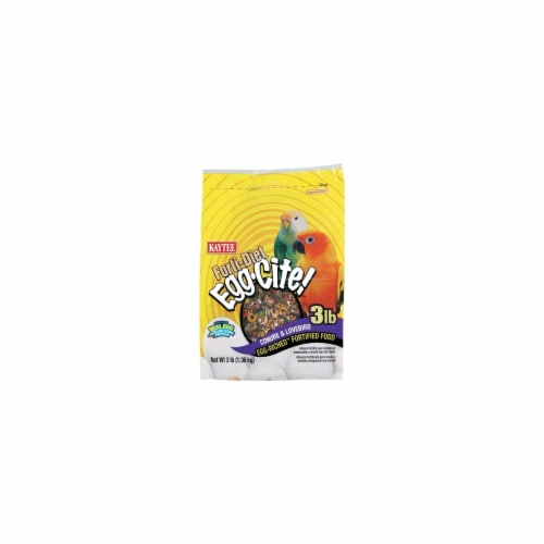 Kaytee Products KT53474 Forti Diet Eggcite Conure, 3 lbs. Perspective: front