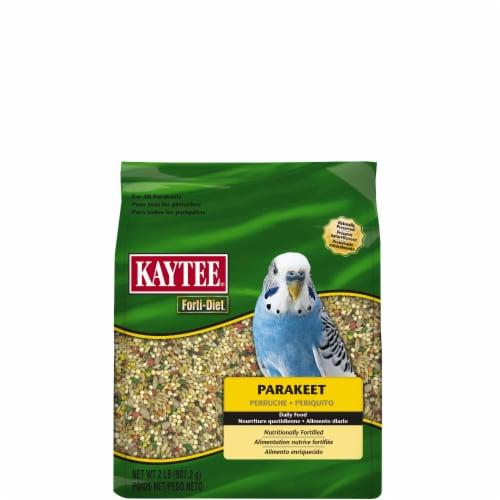 Kaytee Forti-Diet Parakeet Food Perspective: front