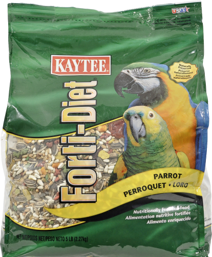 Kaytee Forti-Diet Parrot Food Perspective: front
