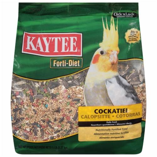 Kaytee Forti-Diet Cockatiel Food Perspective: front