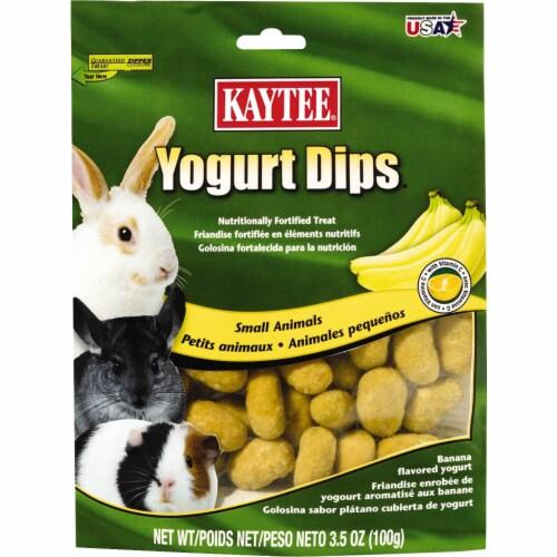 Kaytee Yogurt Dips Banana Flavored Small Animal Treats Perspective: front