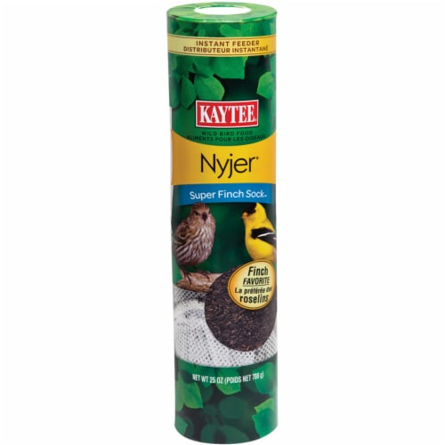 Kaytee Products Super Finch Bird Feeding Sock Perspective: front