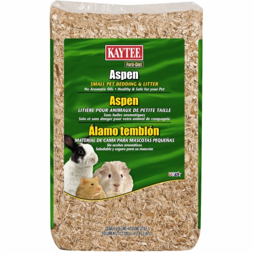Kaytee Forti-Diet Aspen Small Pet Bedding & Litter Perspective: front