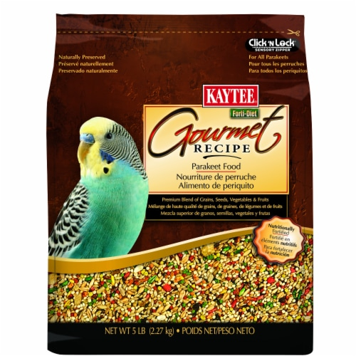 Kaytee Gourmet Parakeet Food Perspective: front