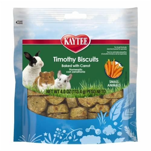 Kaytee Timothy Carrot Biscuit Treats Perspective: front