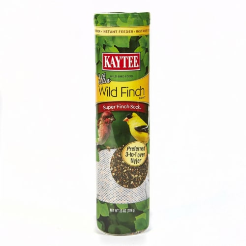 Kaytee Ultra Wild Finch Blend Super Sock Perspective: front