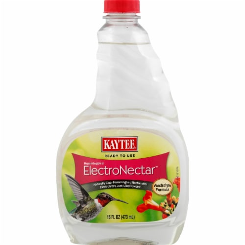 Kaytee ElectroNectar Hummingbird Liquid Feed Perspective: front
