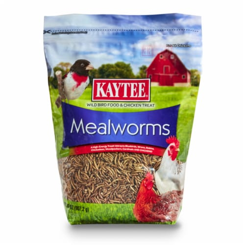 Kaytee Products 100522905 32 oz. Meal Worms Perspective: front