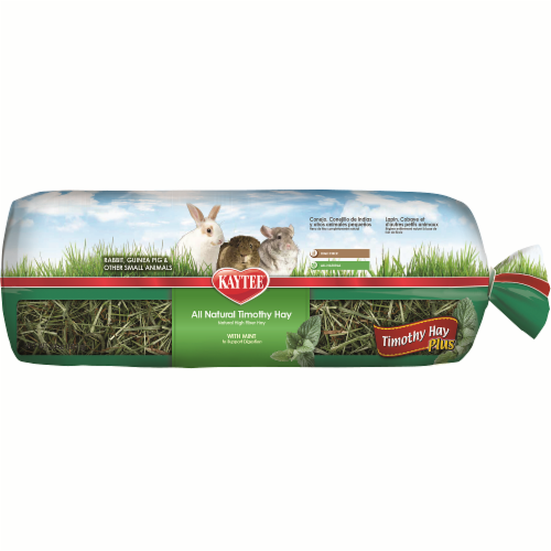 Kaytee Timothy Hay Plus Mint Hay Perspective: front