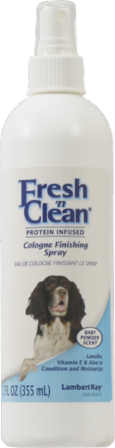 Lambert Kay Fresh N' Clean Pet Baby Powder Cologne Spray Perspective: front