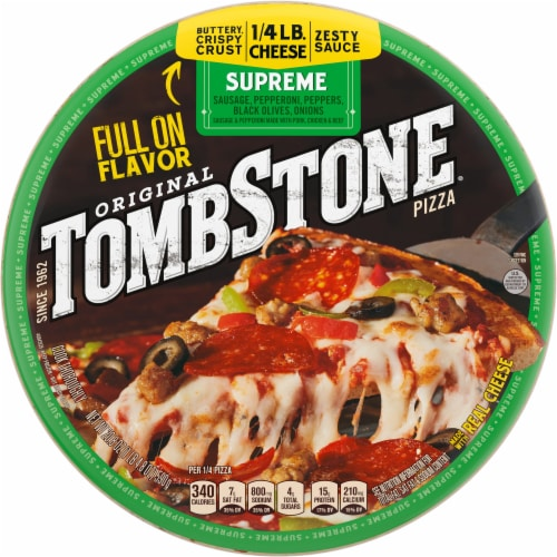 Tombstone Original Supreme Pizza Perspective: front