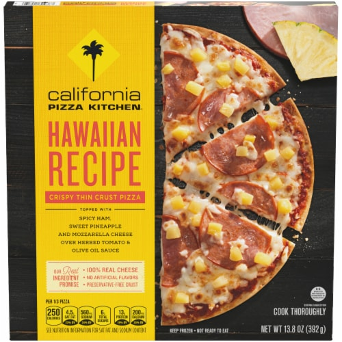 Ralphs California Pizza Kitchen Hawaiian Recipe Crispy Thin Crust Pizza 13 8 Oz