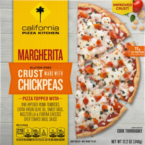 California Pizza Kitchen Margherita Chickpea Crust Perspective: front