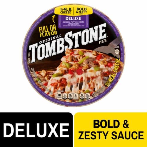 Tombstone Original Deluxe Pizza Perspective: front