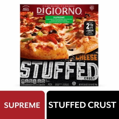DiGiorno Cheese Stuffed Crust Supreme Pizza Perspective: front