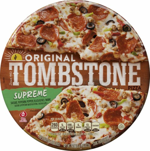 Tombstone Original Supreme Pizza Image Perspective: front