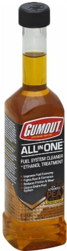 Gumout Ethanol All-in-One treatment Fuel System Cleaner Perspective: front