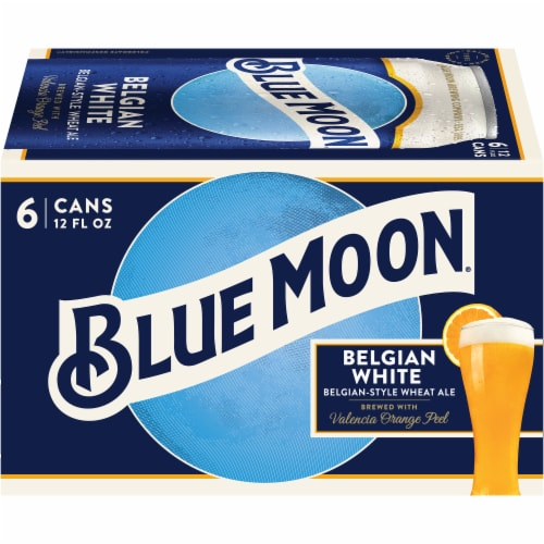 Blue Moon Belgian White Belgian-Style Wheat Ale Perspective: front