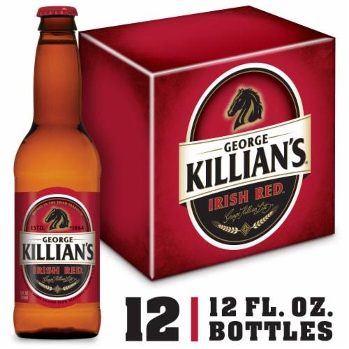 George Killian's Irish Red Irish Lager Beer Perspective: front