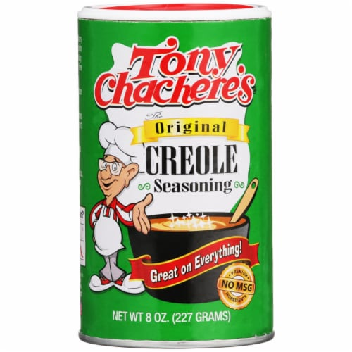 Tony Chachere's Original Creole Seasoning Perspective: front