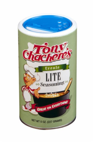 Tony Chachere's Lite Salt Seasoning Perspective: front