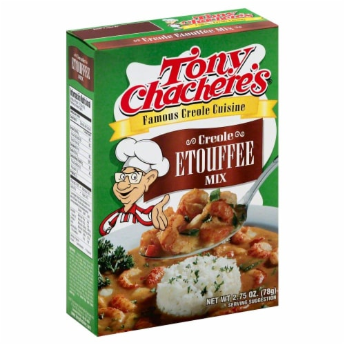 Tony Chachere's Creole Etoufee Mix Perspective: front