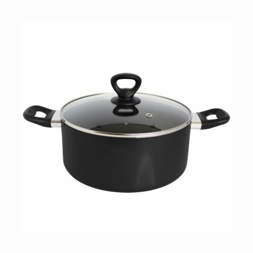 Mirro Get A Grip Nonstick Covered Sauce Pot - Black Perspective: front
