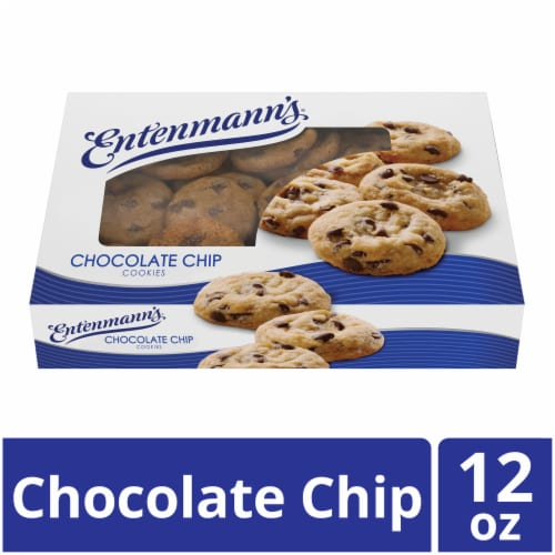 Entenmann's® Chocolate Chip Cookies Perspective: front