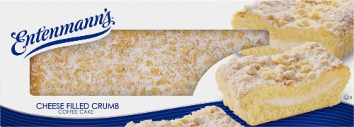 Entenmann's Cheese Filled Crumb Coffee Cake Perspective: front