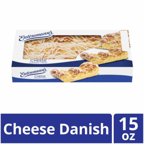 Entenmann's Cheese Danish Twist Perspective: front